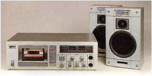 """Сетевой кассетный магнитофон """""""