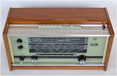 На Рижском радиозаводе имени