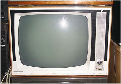 Телевизоры - История - Белый