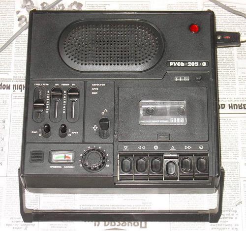 Портативный кассетный